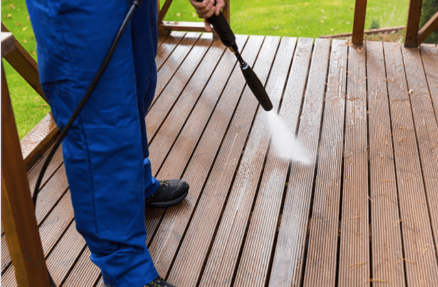 deck cleaning bethesda