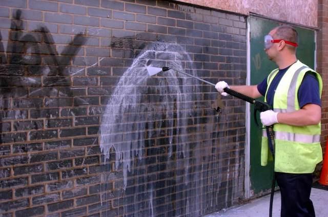 graffiti removal in bethesda