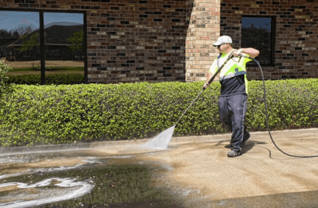 commercial concrete cleaning in bethesda